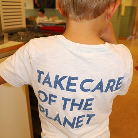 Take care of the planet
